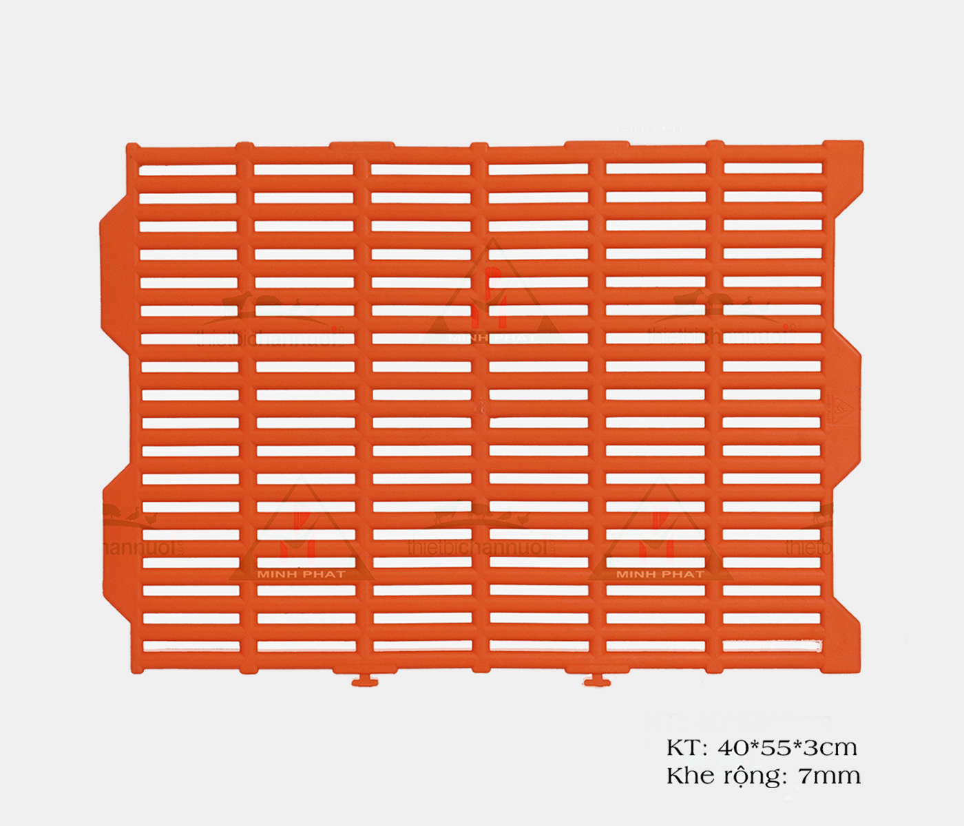 Sàn heo 40x55cm màu cam - SN04