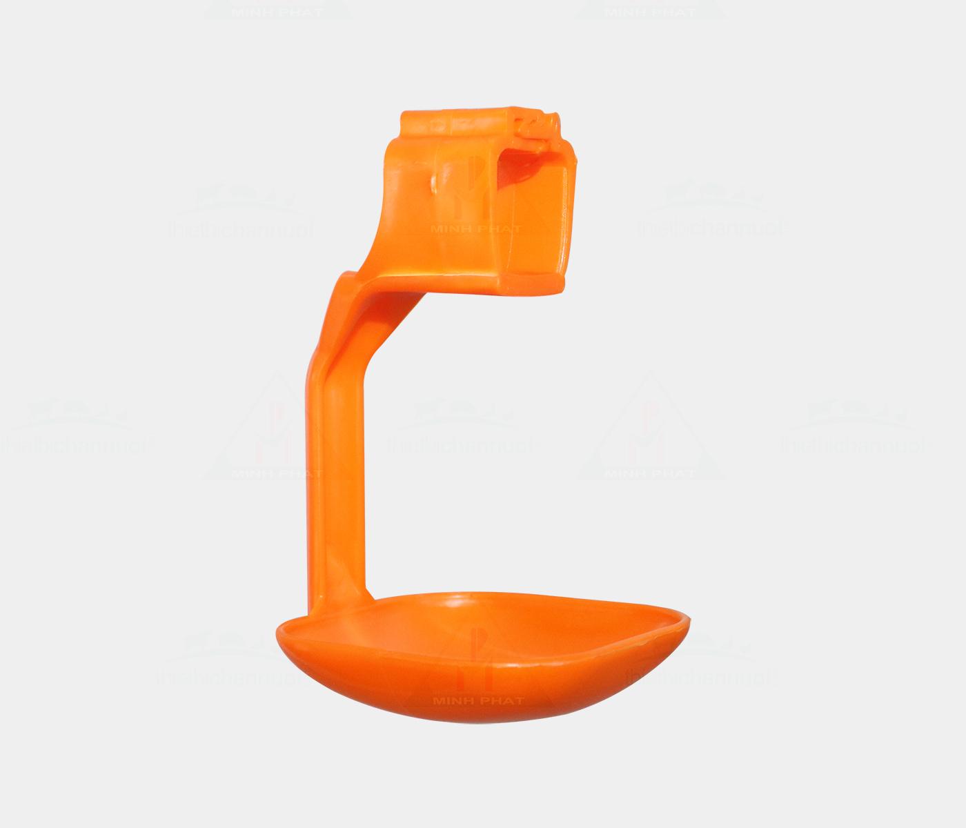 Tách uống gia cầm 22x22mm màu cam - GU04