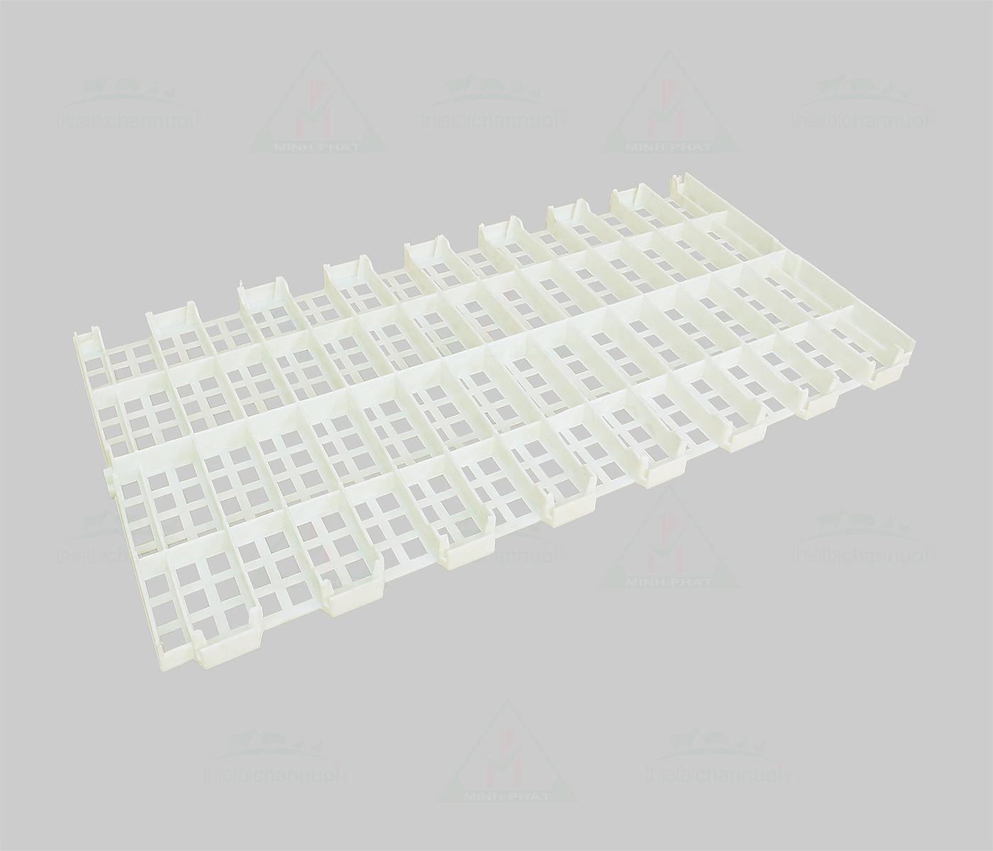 Sàn gia cầm 50x100cm lỗ vuông lớn - SN14