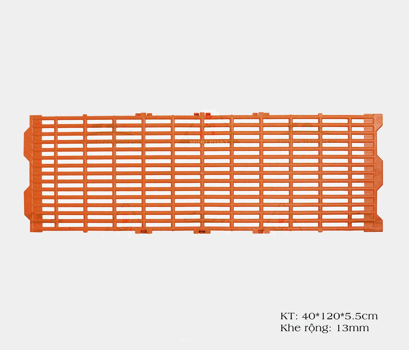 Sàn heo 40x120cm màu cam - SN16