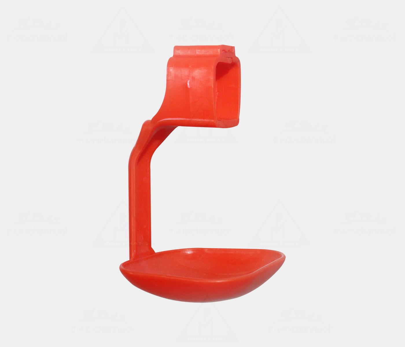 Tách uống gia cầm 25x25mm màu đỏ - GU04-1