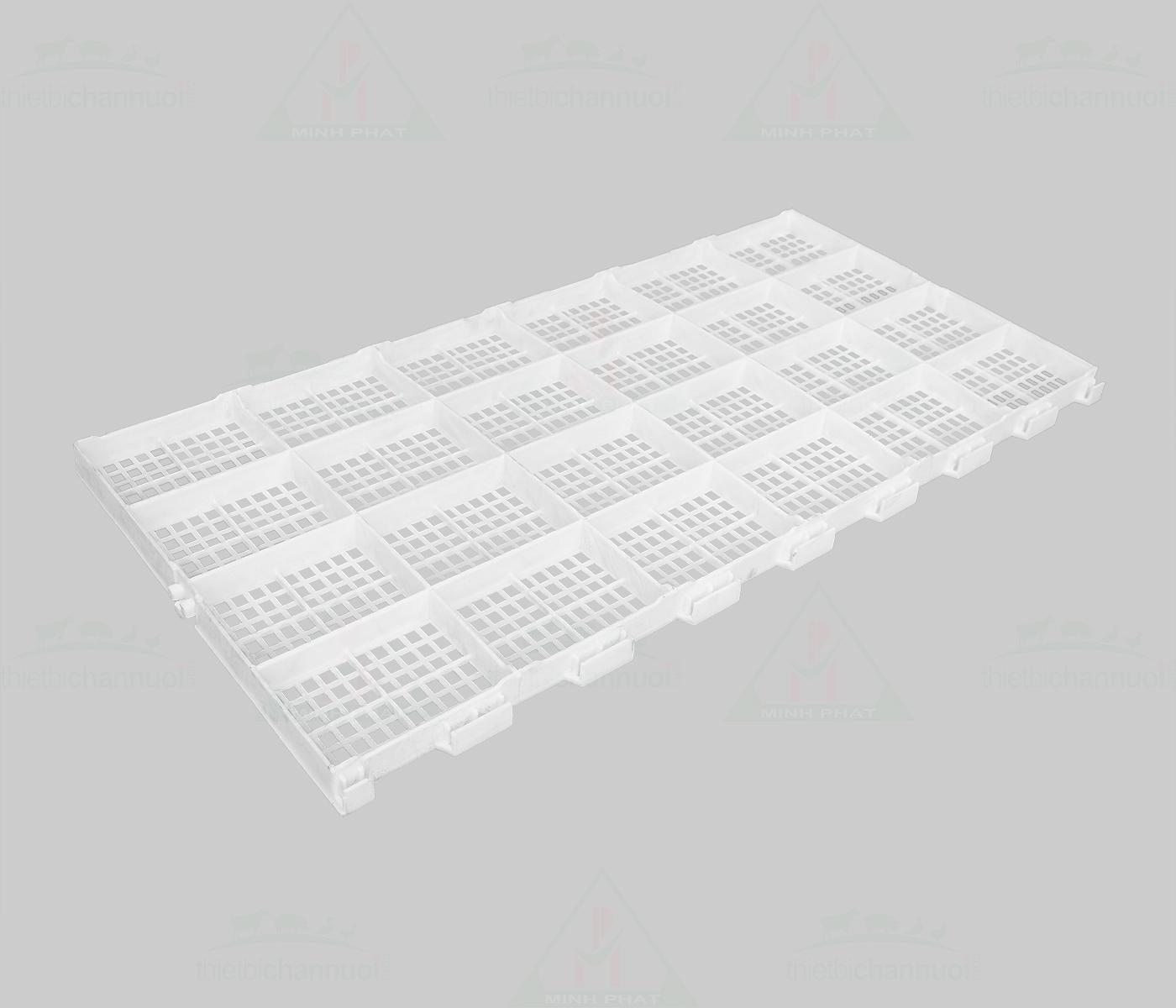 Sàn gia cầm 50x100cm lỗ vuông nhỏ - SN13