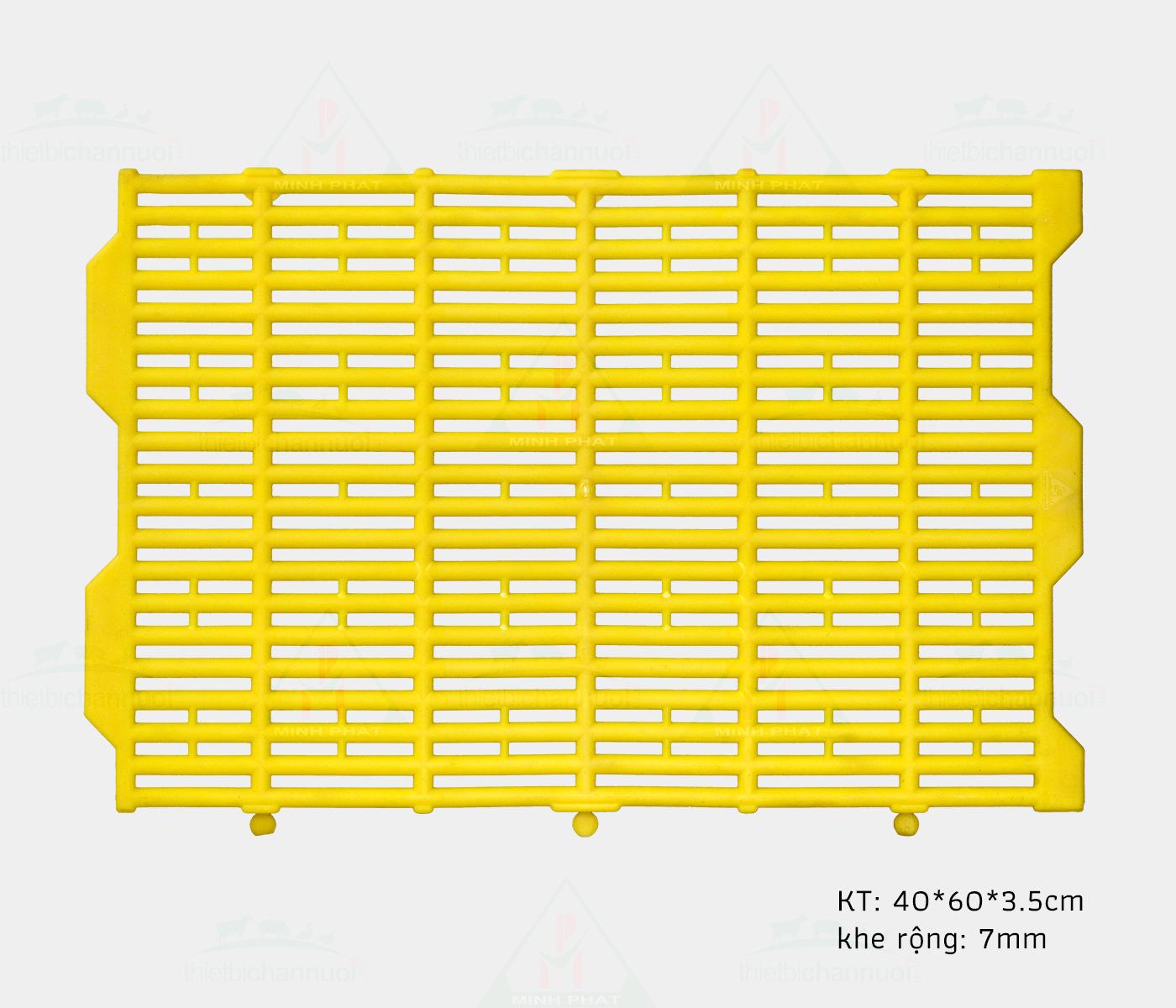 Sàn heo 40x60cm chốt tròn - SN12